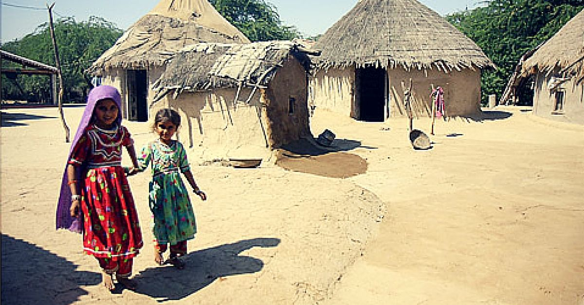 Sania, a 6-Year- Old Girl Is the Only Healthy Kid in Her Village. Here's Why