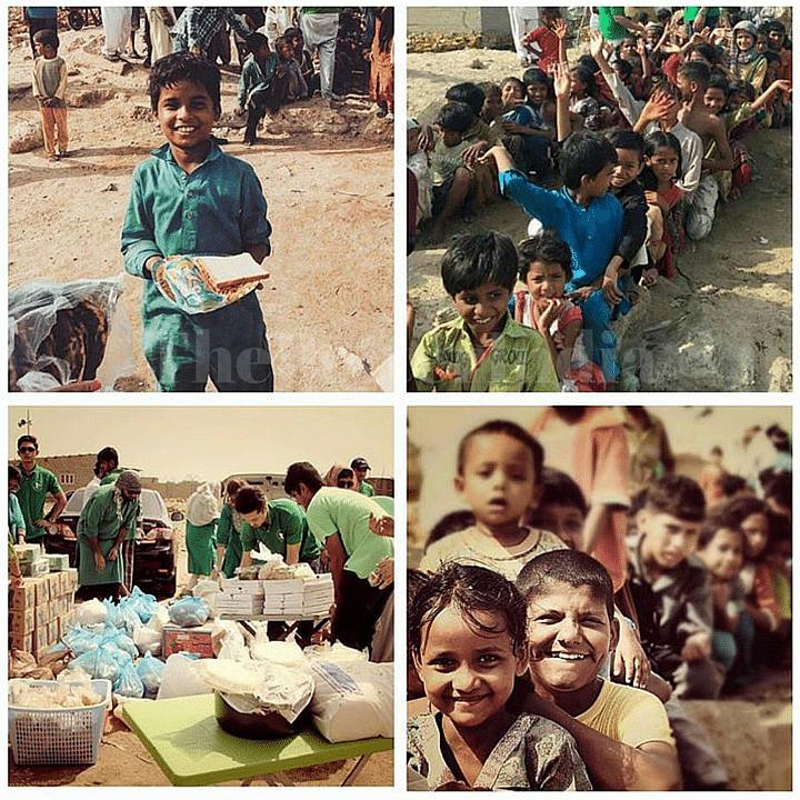 Around 2000 folks served at Machar Colony by Karachi Robins
