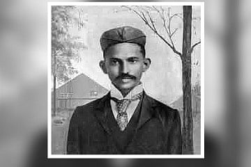 early Mahatma Gandhi