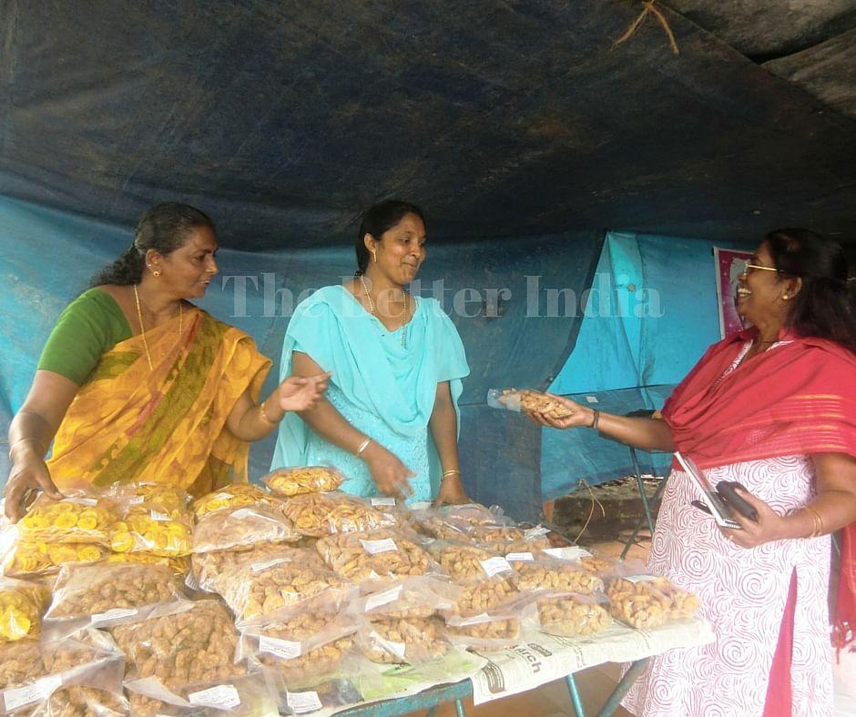Members of Rosalie Kurien's Ojus Kudumbashree neighbourhood group are astute businesswomen who take a keen interest in the development of their Mattathur Gram Panchayat. (Credit: Ajitha Menon\WFS)