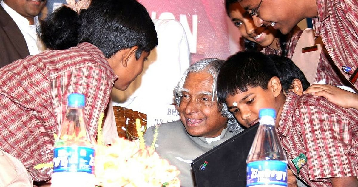Video: A Tribute to Kalam on His Birthday by the Young Minds of India