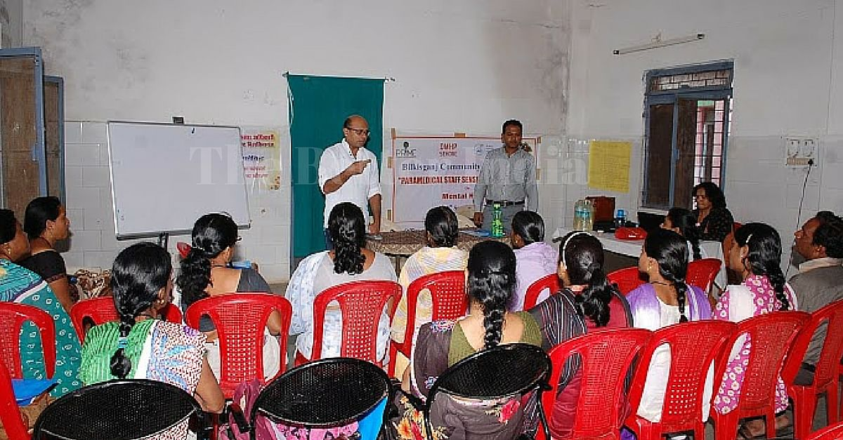 Paramedical staff sensitization session on Mental health & field Planning.