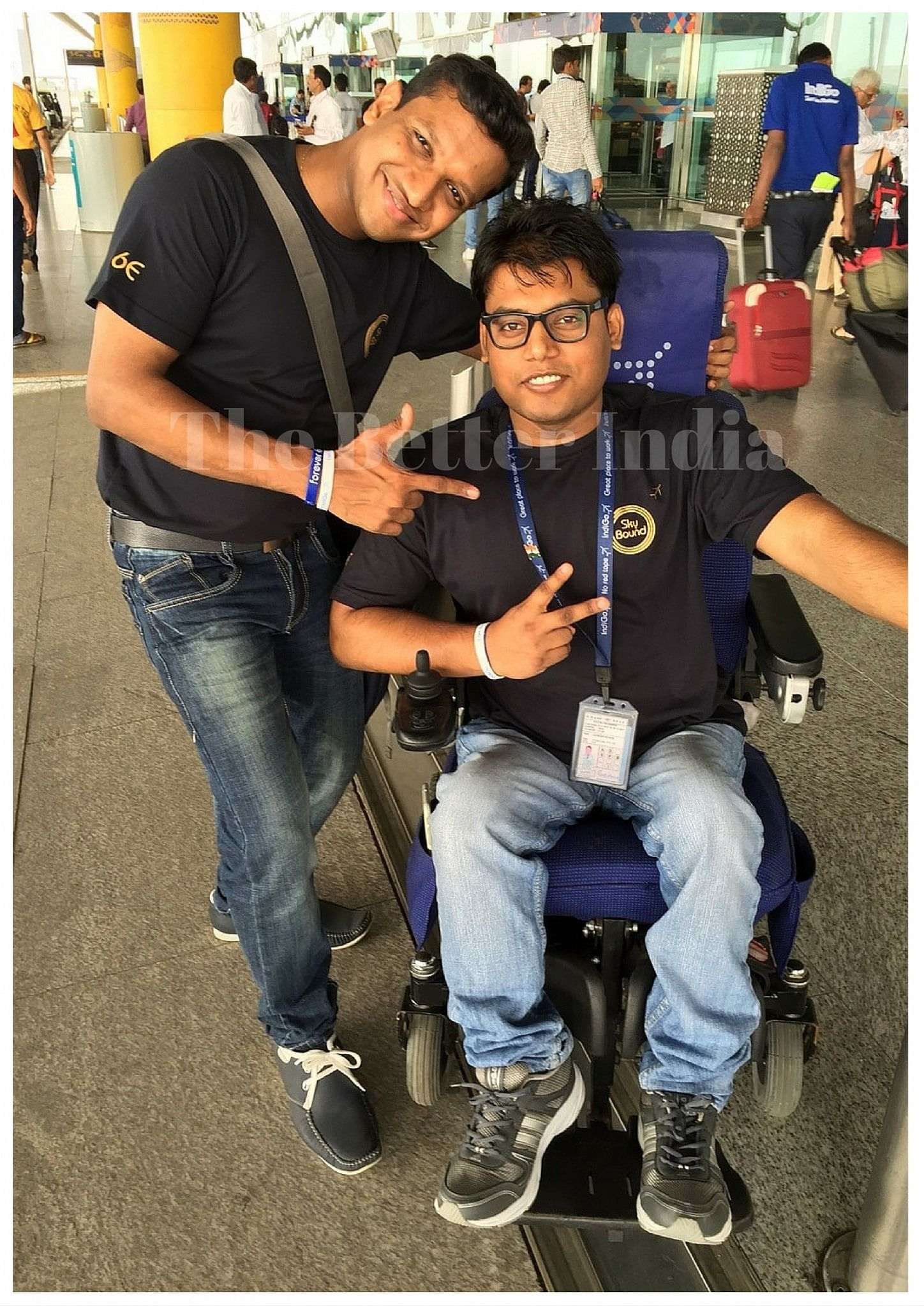 In jut a few months, Sandeep has impressed everyone at his work with hid positive attitude.