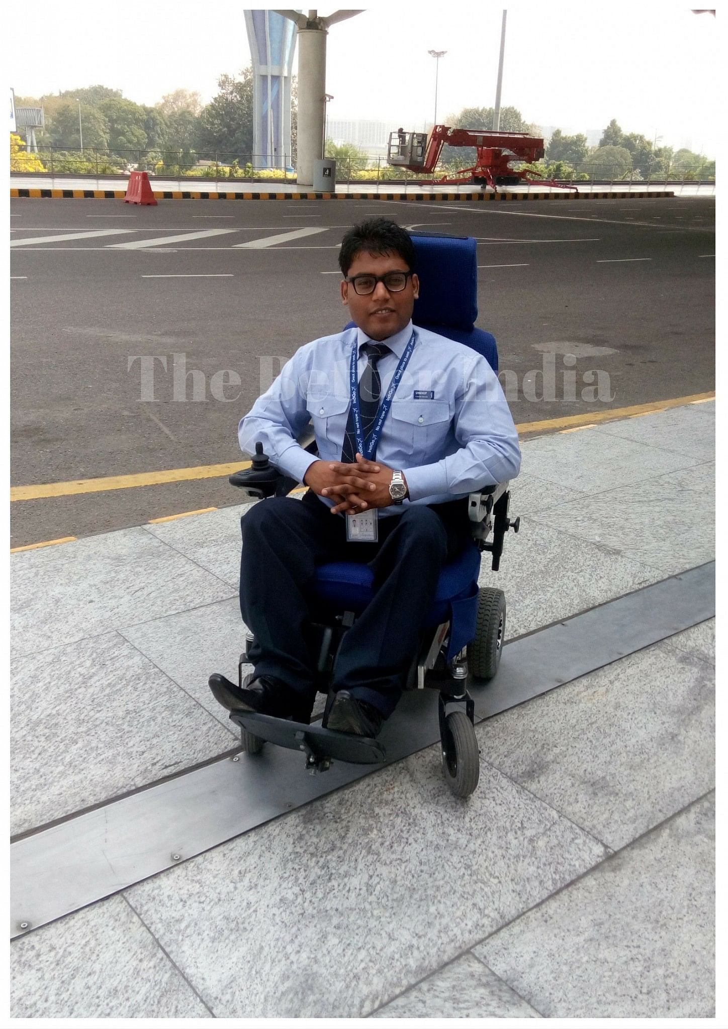 Sandeep became paraplegic at a young age of seven.