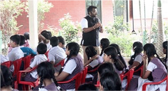 Disaster management workshops in educational institutions