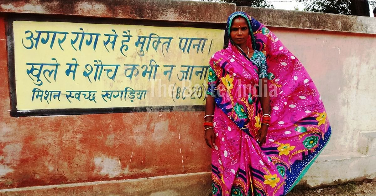 Women played a crucial role in making Rampur Panchayat open defecation free.