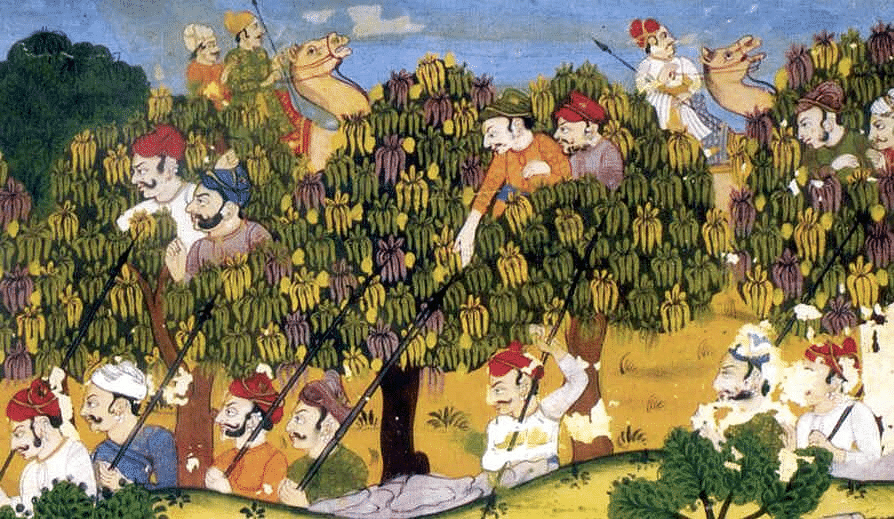 Camels were depicted in pictures of warfare from the 15th century. horsesandswords.blogspot.com