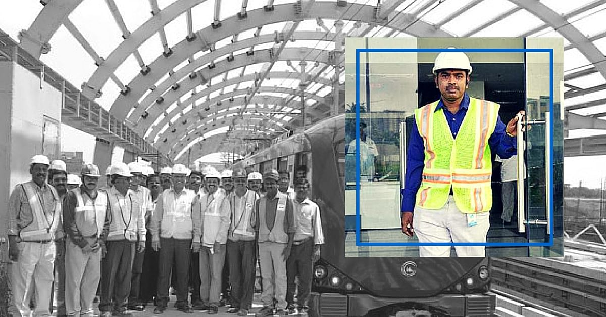 Chennai Metro Rail Engineer to Be Awarded for Environmental Best Practices in London