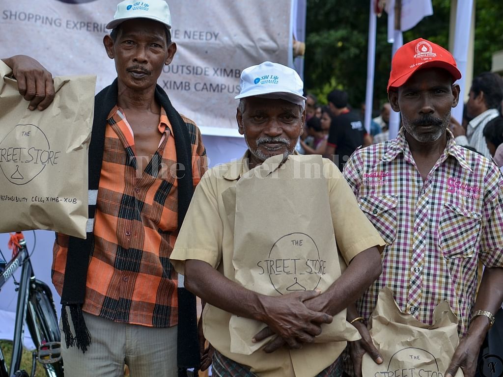 The beneficiaries were given token, which they could exchange for a product of their choice.
