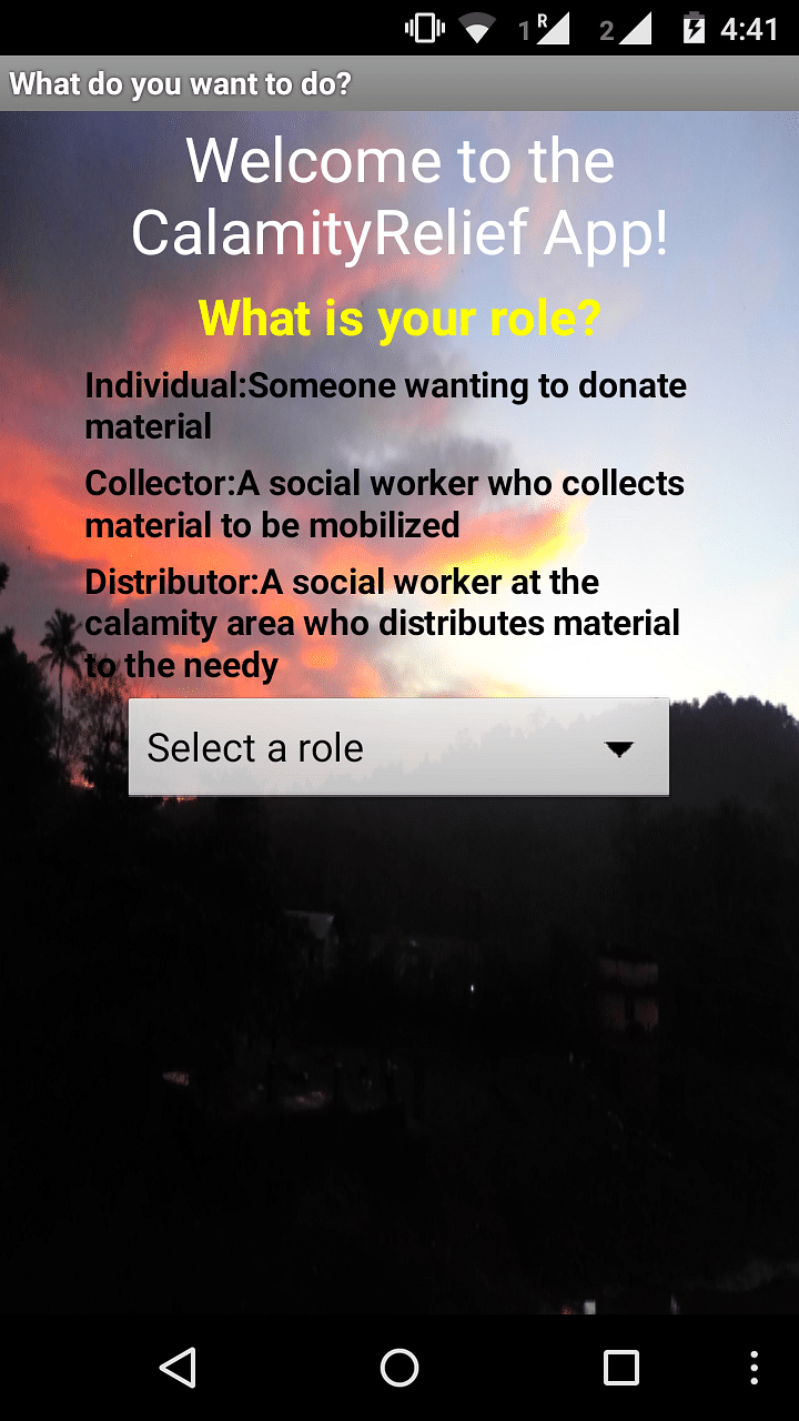 Chennai Donations