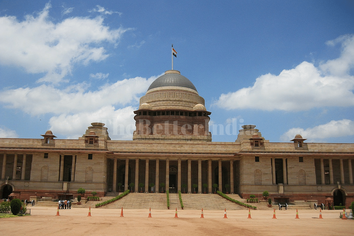 Picture tour of rashtrapati bhavan the masterpiece of Indian building photos