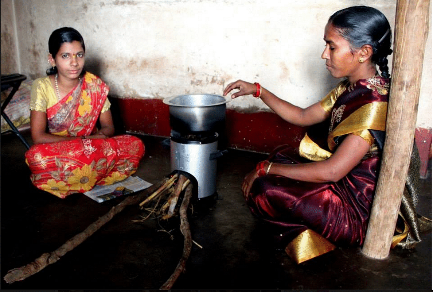 cookstove in rural India