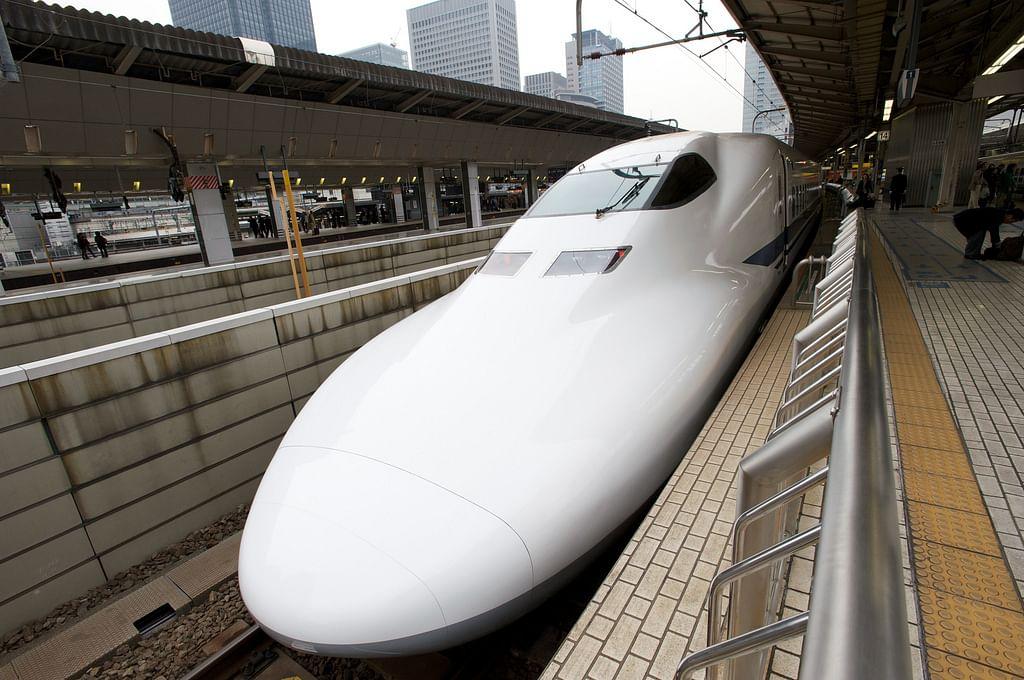 Shinkansen (Bullet Train), Tokyo station.