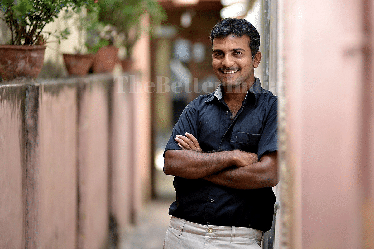 meet vinoth kumar engineer and mba graduate who is now a farmer a proud organic farmer