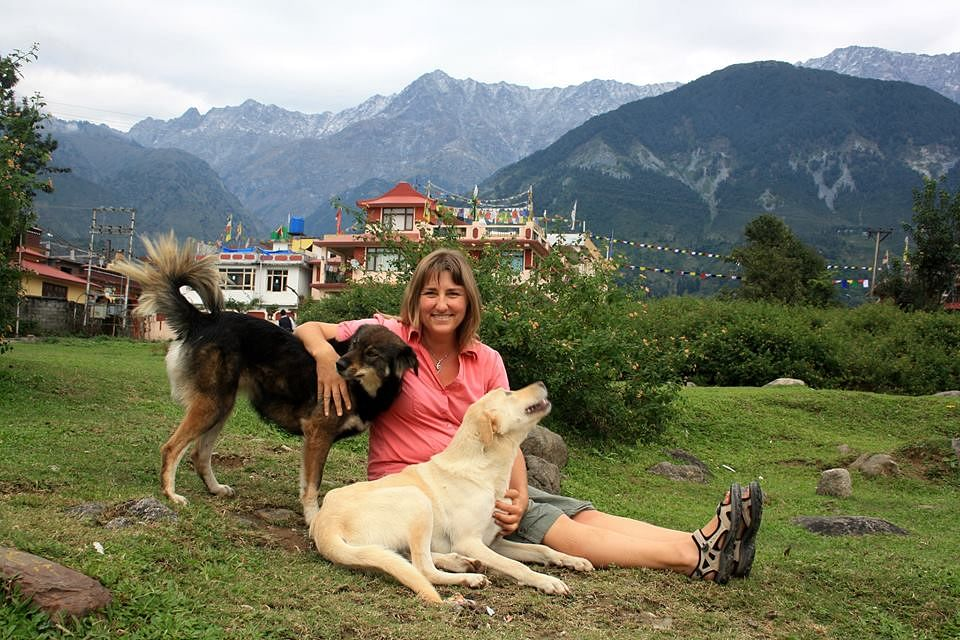 Dr. Catherine Schuetze in Dharamsala