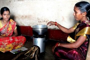cookstoves in rural India