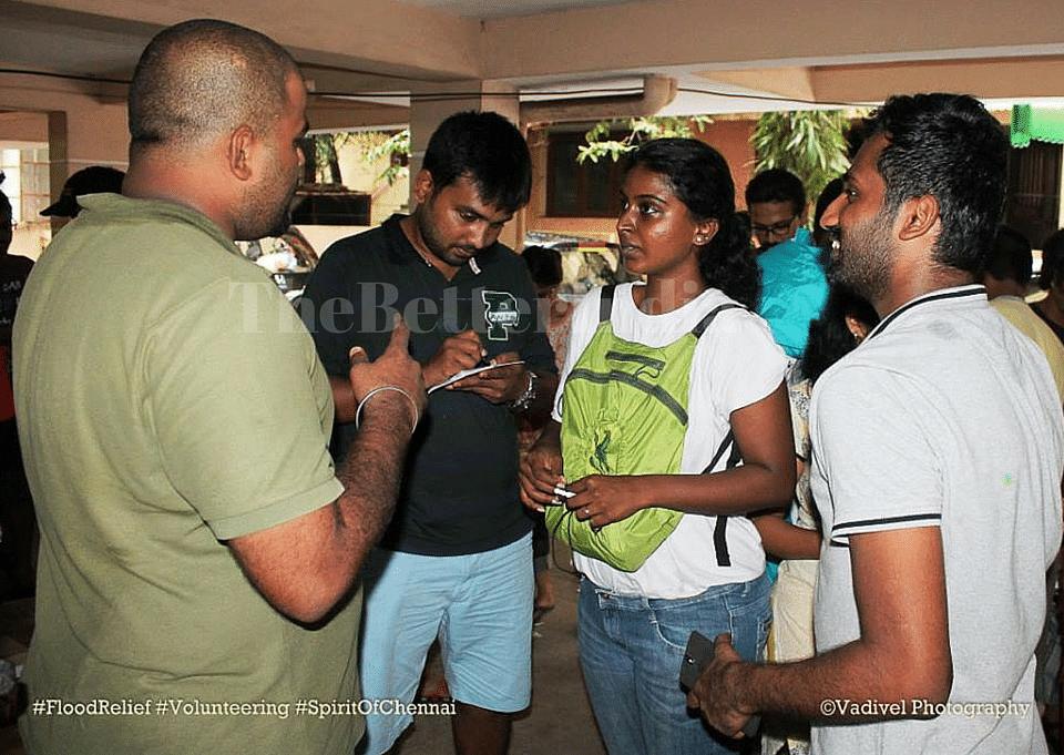 Geethapriya and her core team