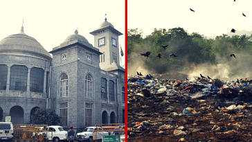 bbmp waste locked