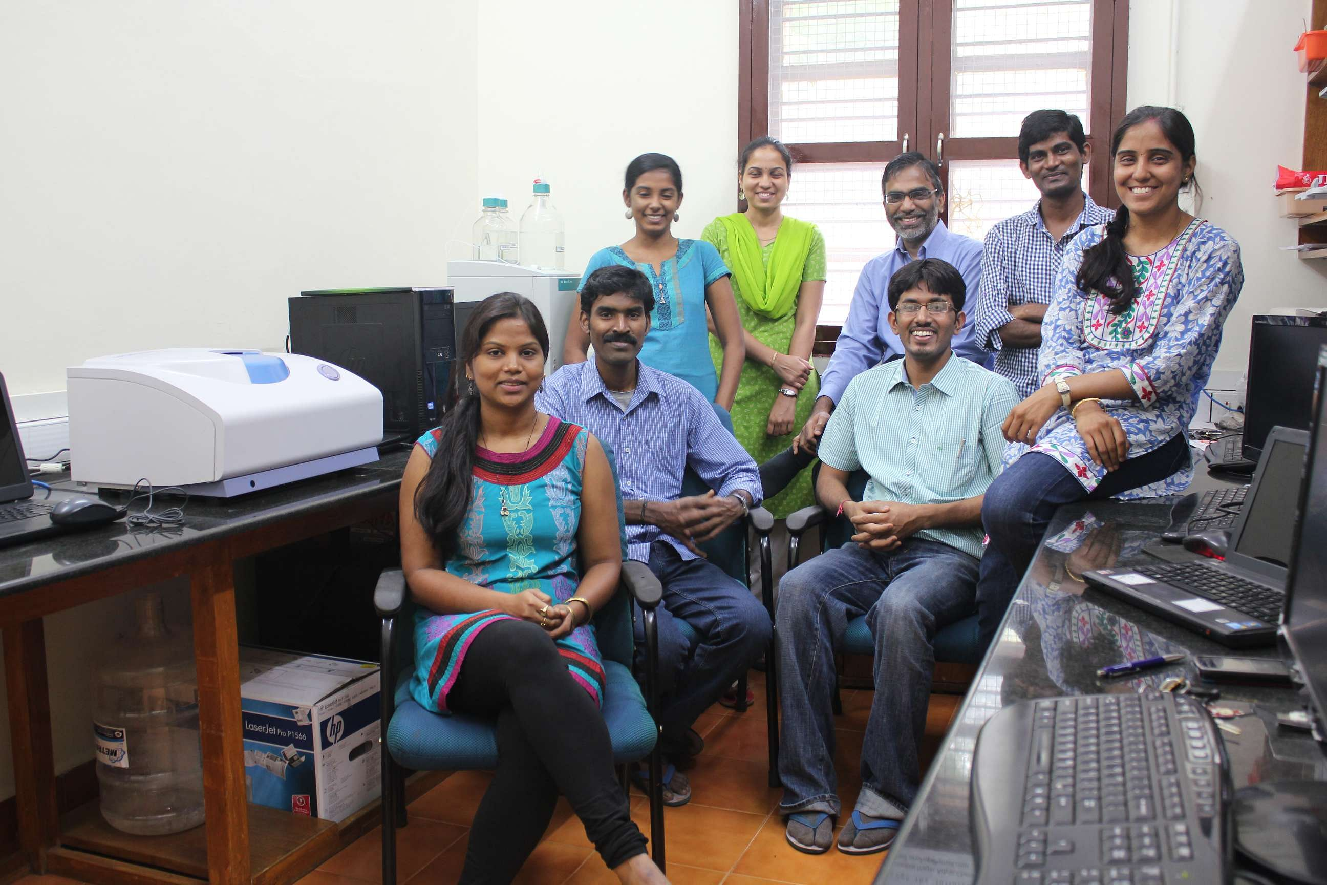 Team behind the water purifier