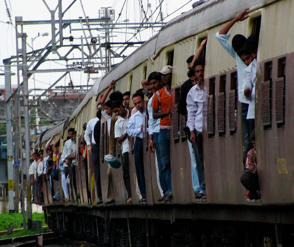 mumbai trains modified seating