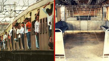 mumbai trains seating modification