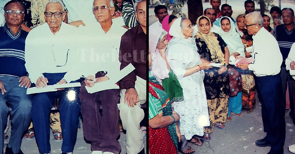 Meet the 86-Year-Old Who Has Helped 6 Lakh Patients Get Medical Treatment They Could Not Afford