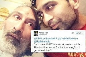 railways tweet