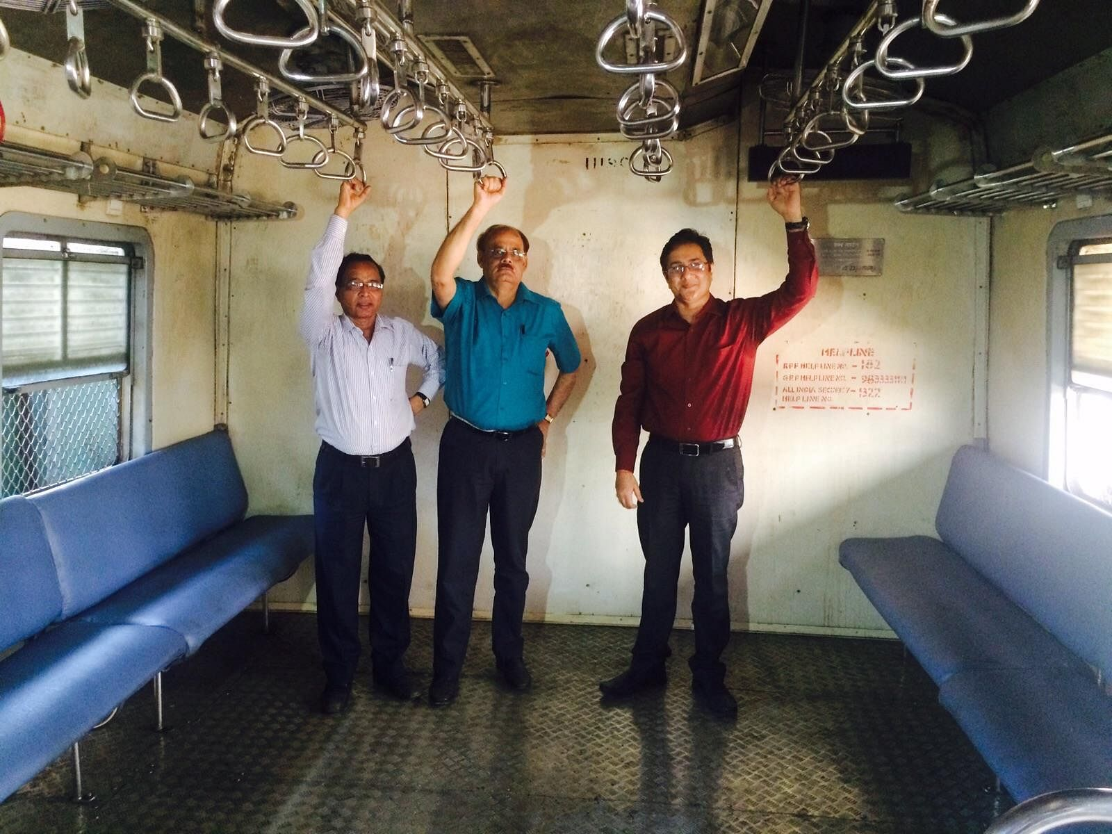 mumbai trains modified seating