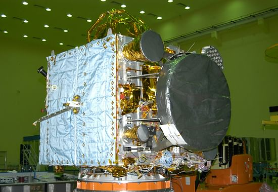IRNSS-1A Satellite at ISRO Satellite Centre
