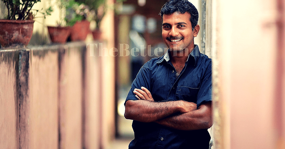 Meet Vinoth Kumar - Engineer and MBA Graduate who is now a