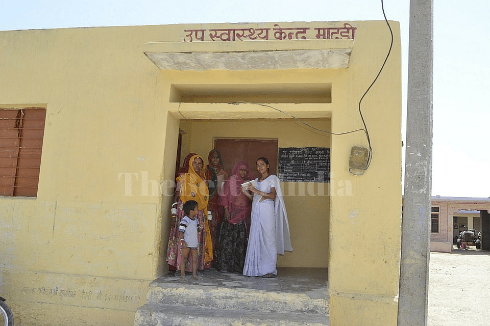 The technological edge that the tablet PC provides to the ANMs is sure to give a fillip to the otherwise poor state of public healthcare in the countryside. (Credit: Jalaram\WFS)