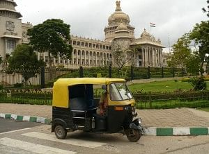 woman autorickshaw
