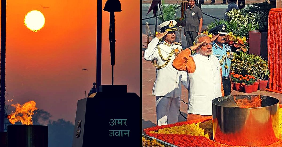 5 Things Every Indian Needs to Know about the Amar Jawan Jyoti – the Eternal Flame