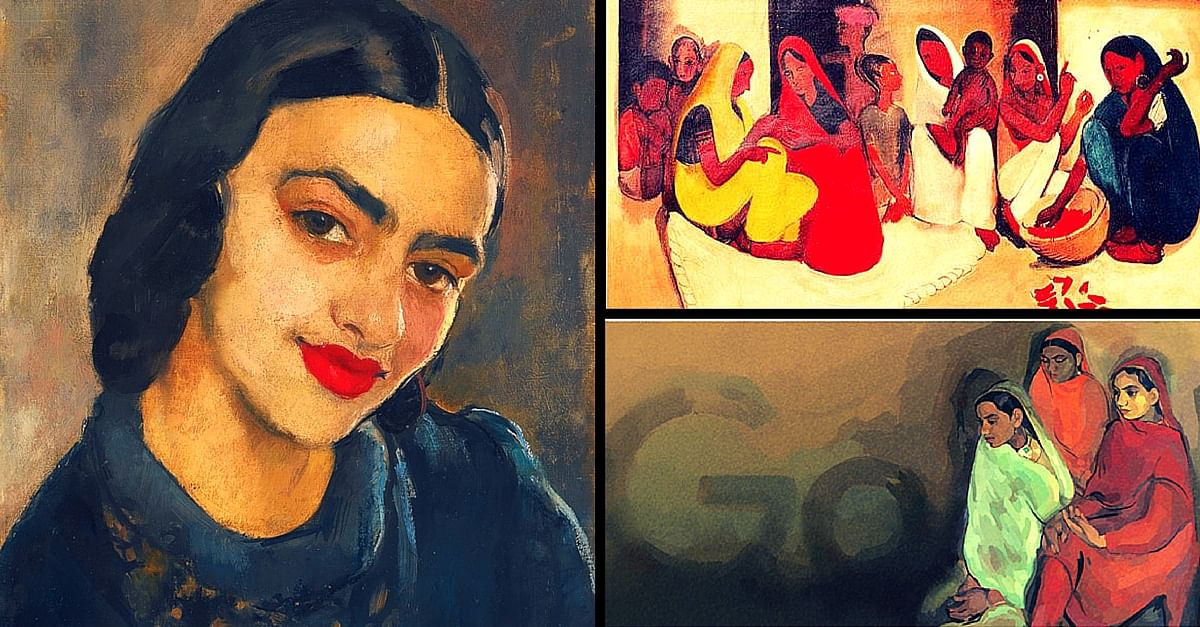 Google's Doodle Honours Amrita Sher-Gil. Here Are 5 Things You Should Know about Her.