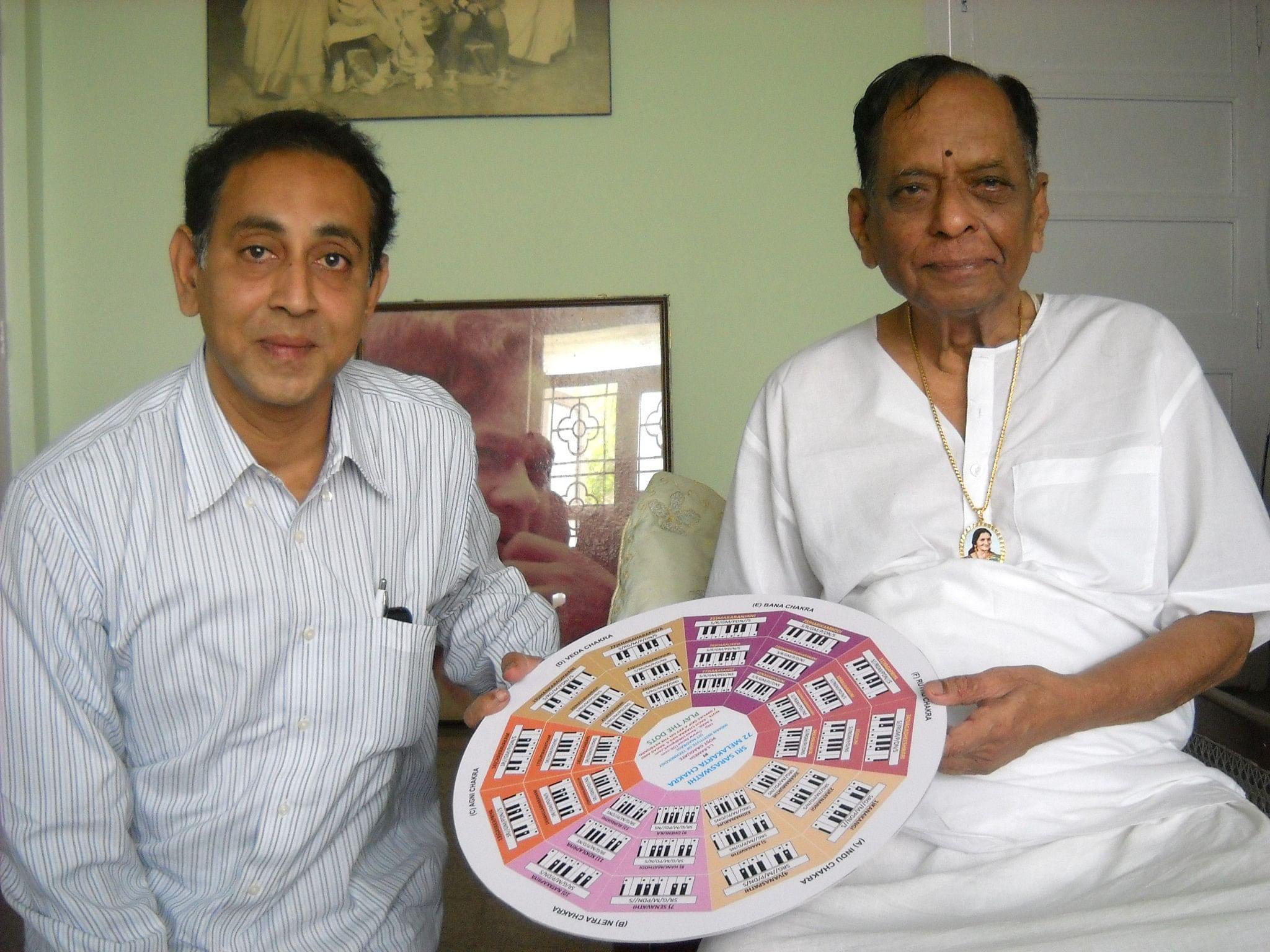 The music chakra with veteran Carnatic musician Dr. M Balamuralikrishna
