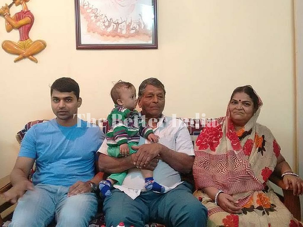 Aditya's parents were initially reluctant of this step but gradually supported this kind move. And now they are proud of their son and the grandson.
