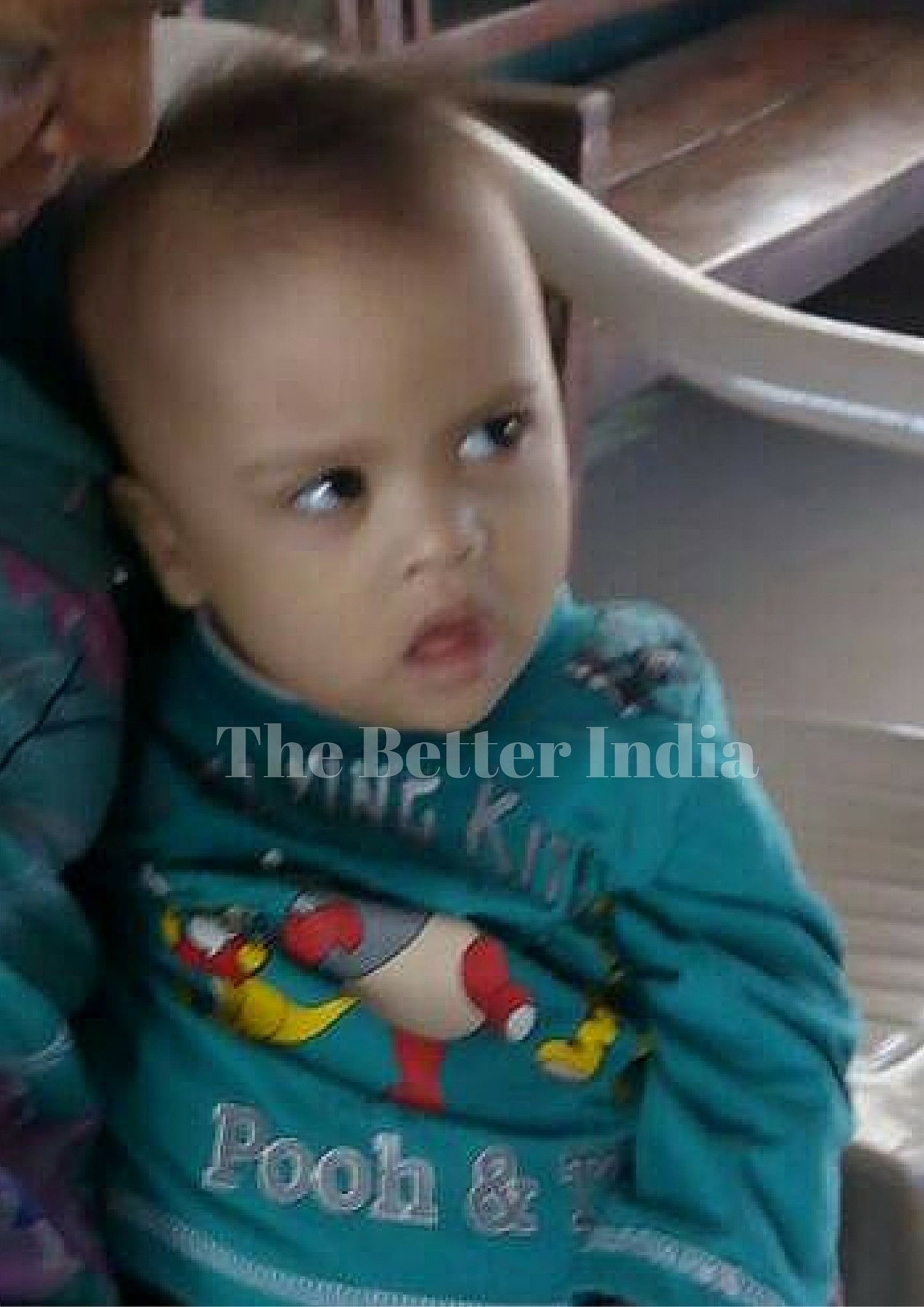 Binny was born in a rich family. But they abandoned him because of his special condition.