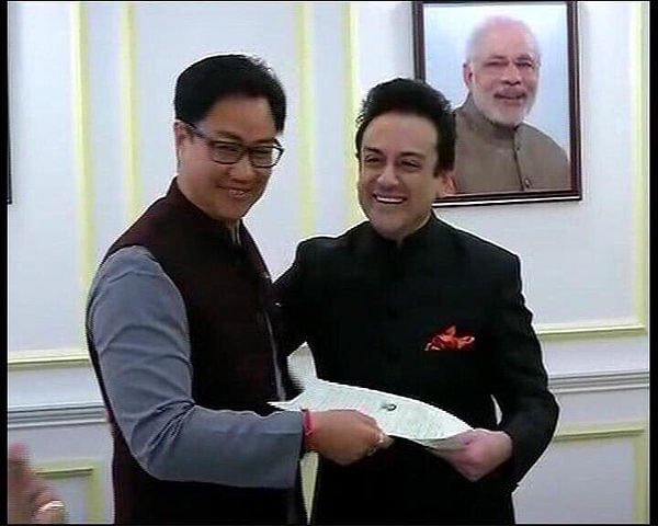 adnan sami indian citizen