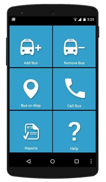 track a school bus