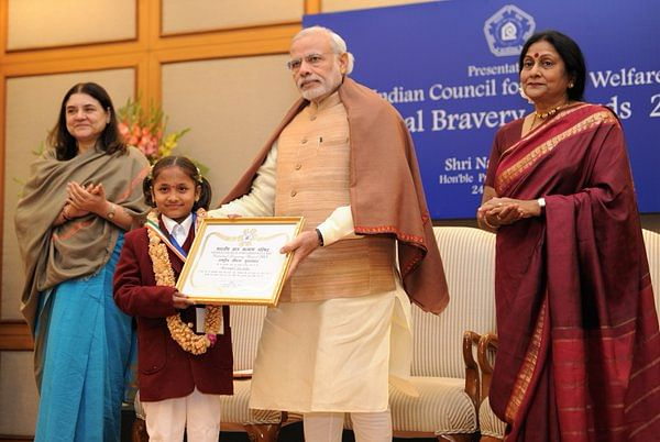 National Bravery Award won by Brave Children for their Courageous Act