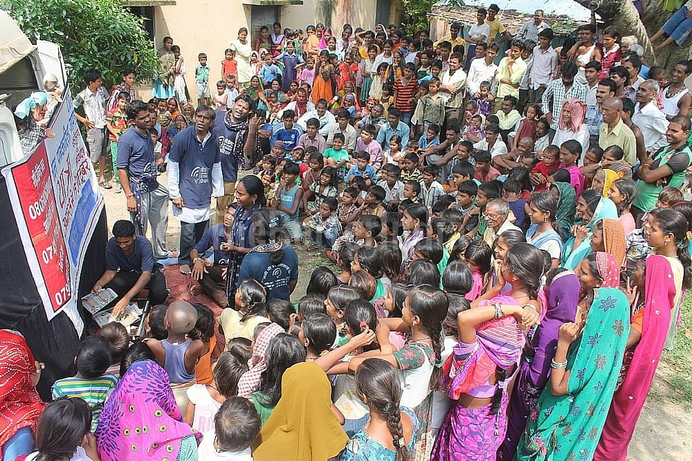 An awareness session about CGNet Swara