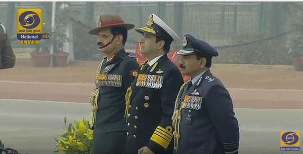 chiefs of indian armed forces