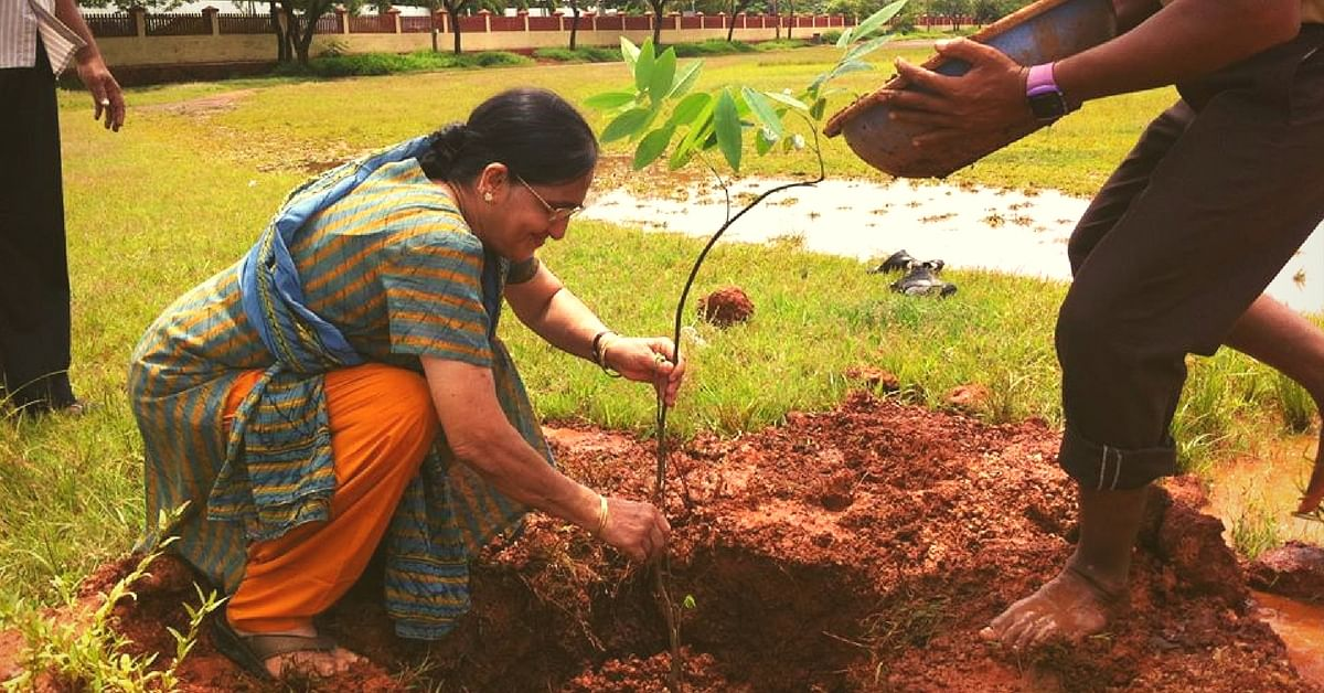 How a 63-Year-Old Retired Math Teacher Is Changing the Face of Her Hometown in Goa
