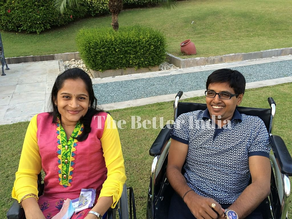 Kalpesh's wife, Deepali added more confidence and love in his life.