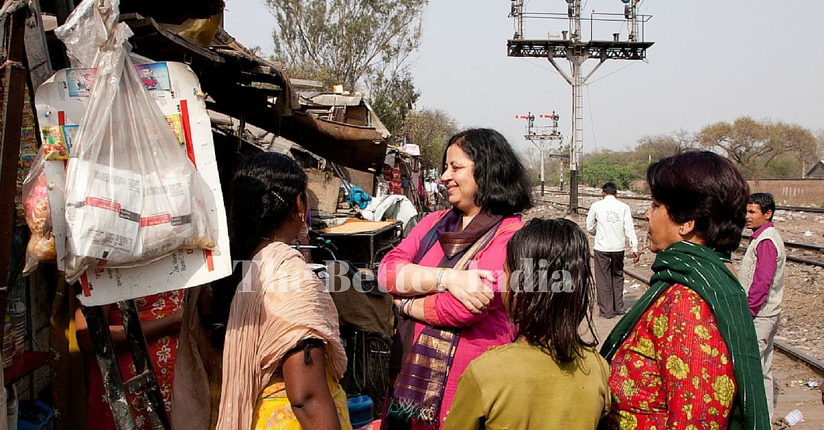 Dr Kiran Martin wanted to create long-term and sustainable transformation to slum dwellers' quality of life.