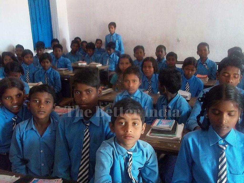 Madan has transformed a government school in Badwankala.