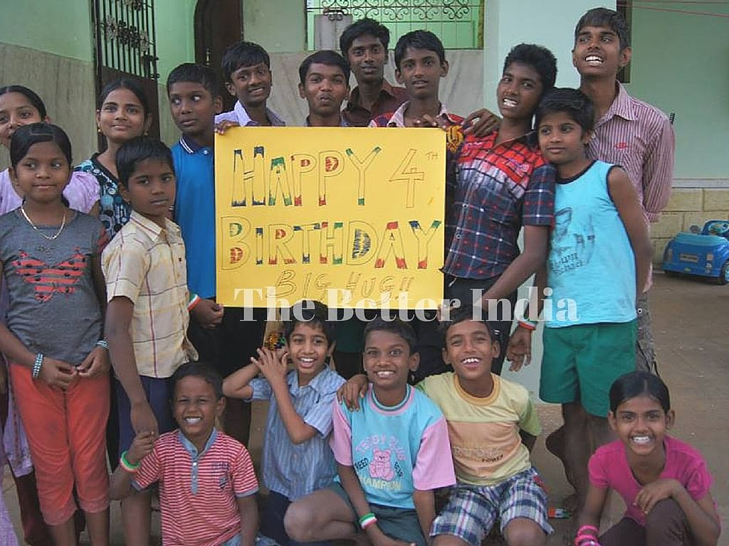 Big Hug FOundation not just provides better accommodation but also better education opportunities to the kids.