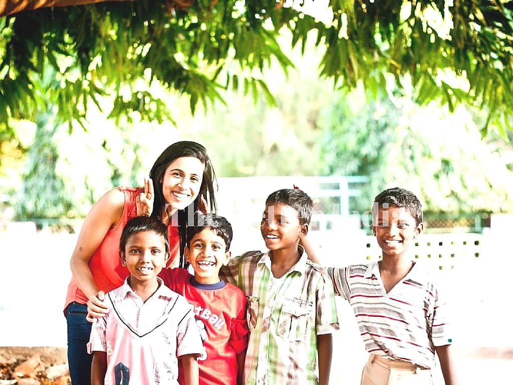 Natasha has helped many children in need through Big Hug Foundation.