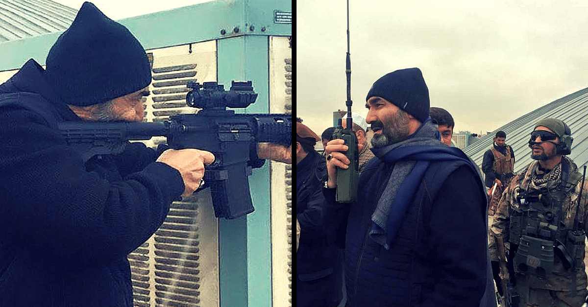 This Afghan Governor Fought alongside Security Forces to Protect the Indian Consulate