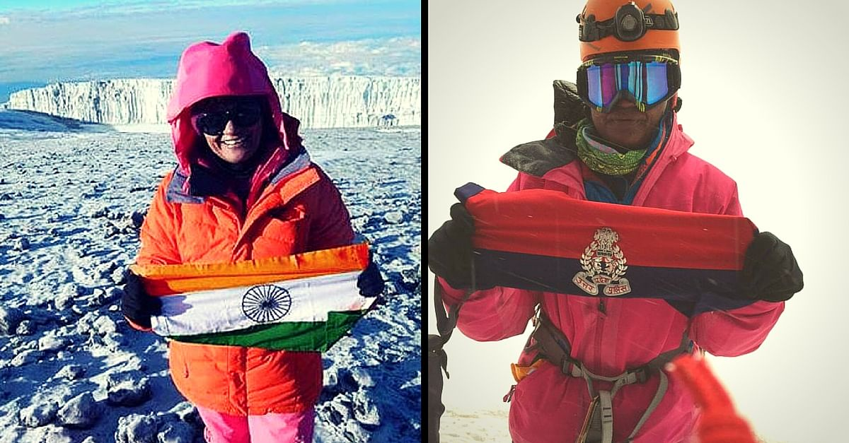 This Woman IPS Officer from UP Just Climbed the Highest Peak in Antarctica